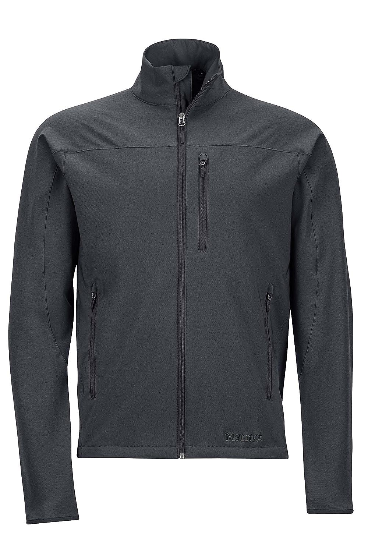 Jet Black L Marmot Tempo Men's Softshell Jacket