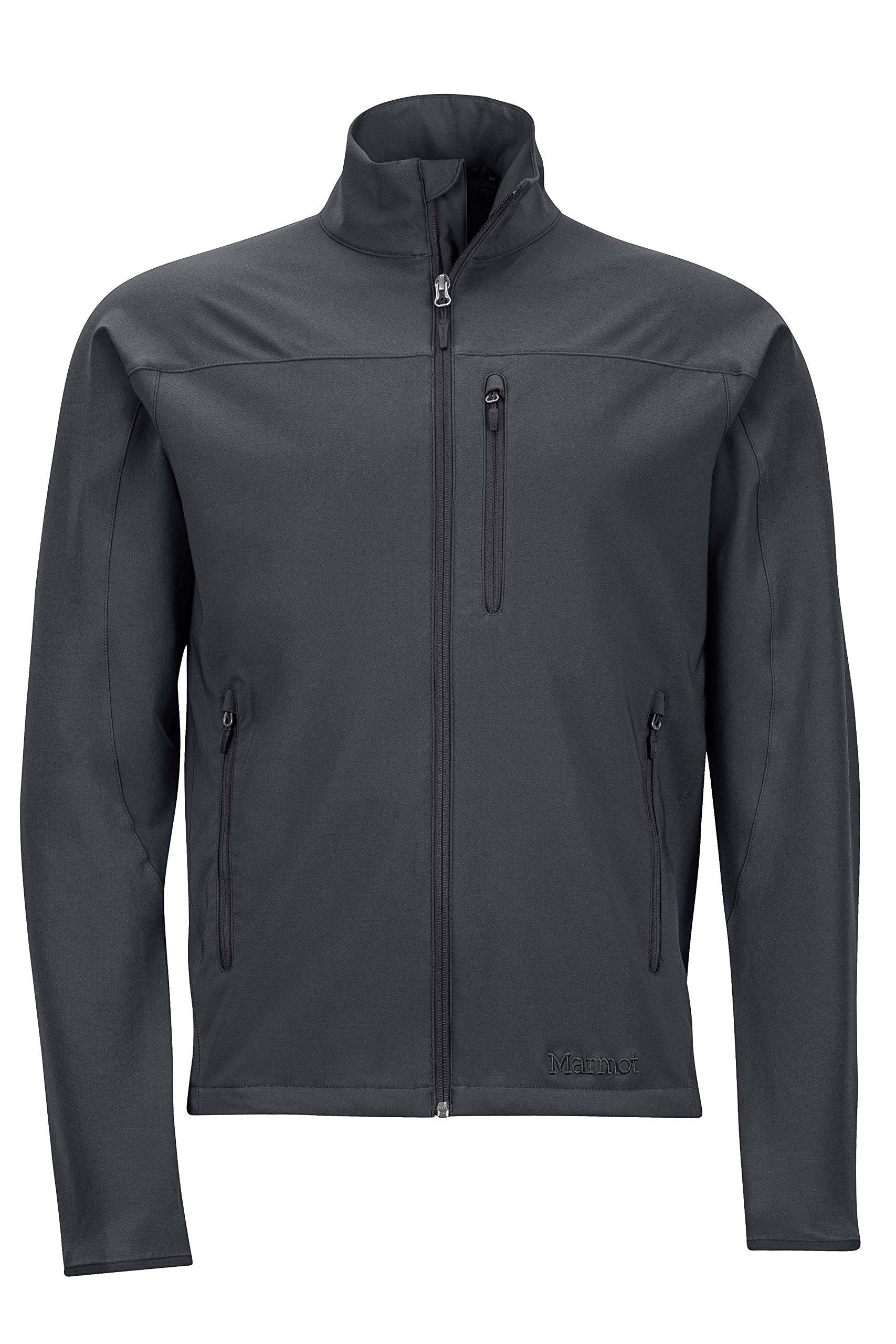 Marmot Tempo Men's Softshell Jacket, Jet Black, Medium by Marmot