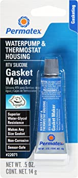 Permatex Water Pump and Thermostat RTV Silicone Gasket 0.5 oz.