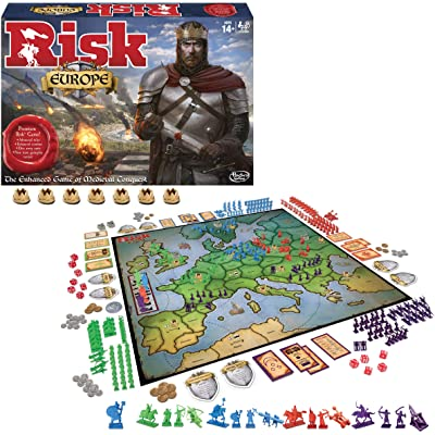 Winning Moves Games Risk Europe: Toys & Games