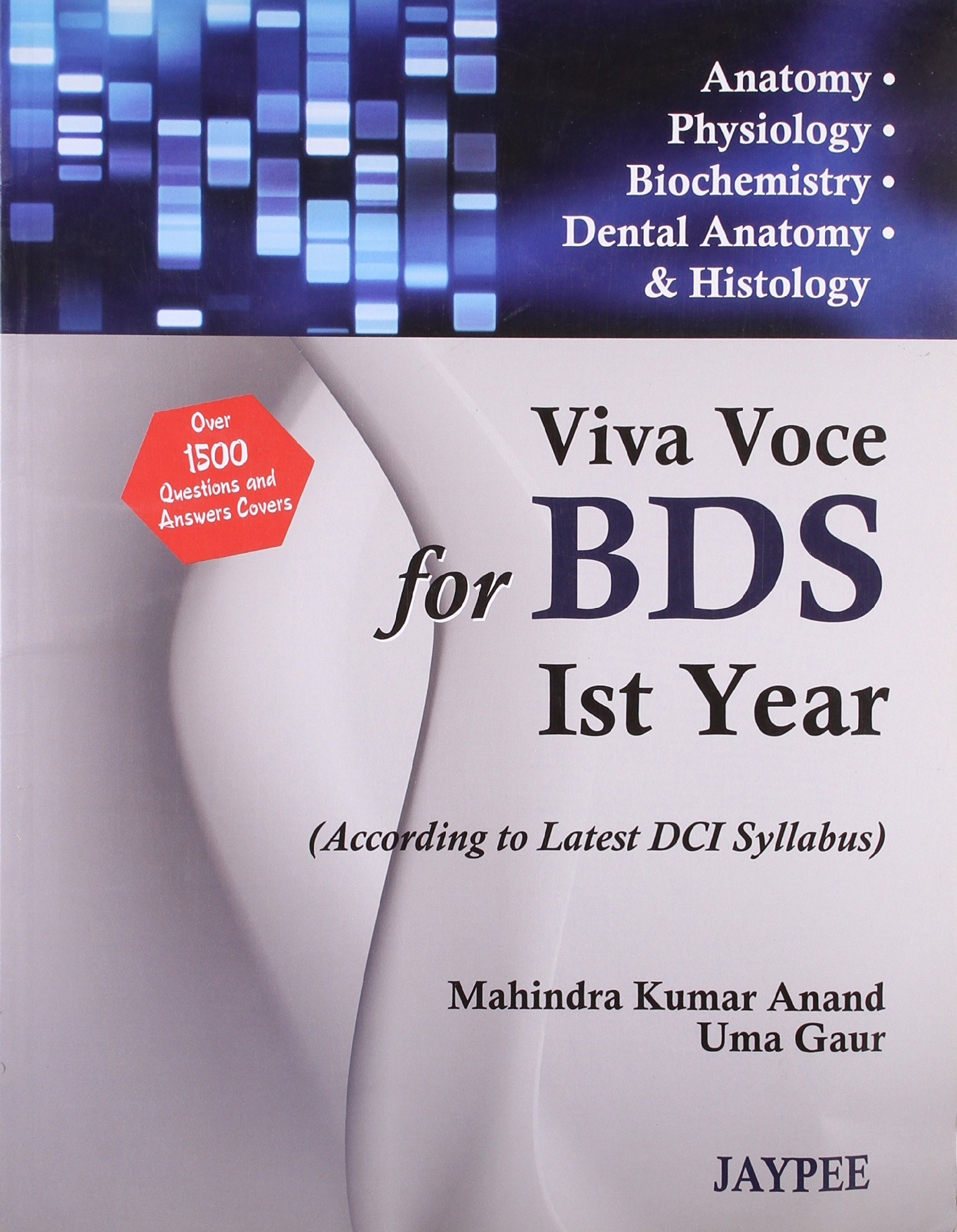 Amazon.in: Buy Viva Voce For Bds Ist Year(According To Latest Dci ...