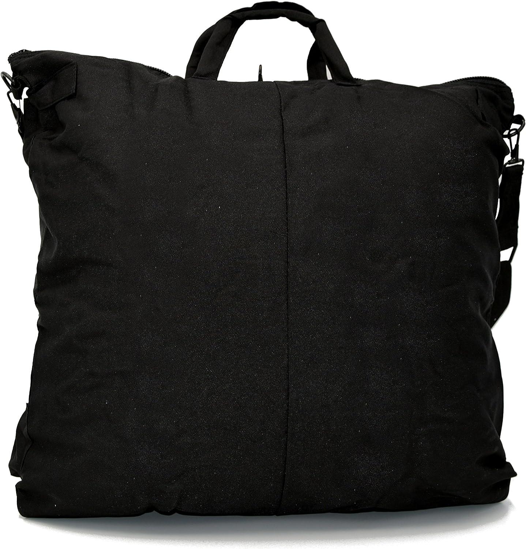 Negro The Aerodyne Bolsa para Casco de Vuelo Pilot Militar Flight Helmet Bag
