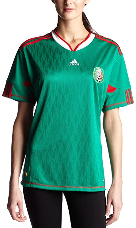 95989e4837b Amazon.com : Mexico Home Soccer Jersey Women's : Sports Fan Jerseys ...