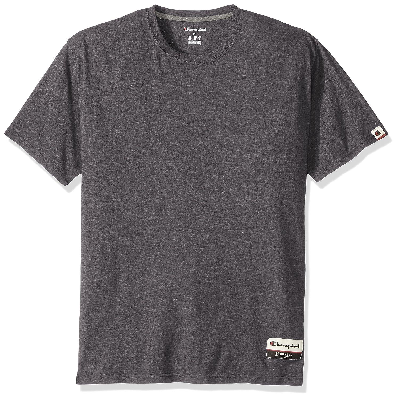 83ab1fb9df59 Champion Men s Authentic Originals Soft Wash Short Sleeve Tee at Amazon  Men s Clothing store
