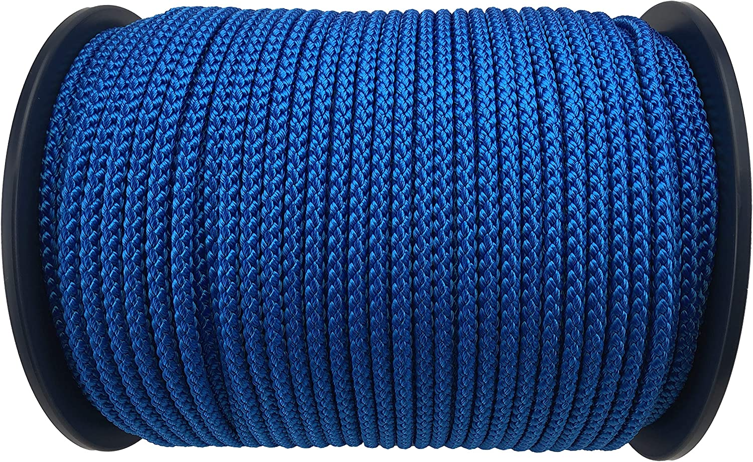 10mm Royal Blue Polypropylene Braided Poly Rope Cord x 50 Metre Strong String