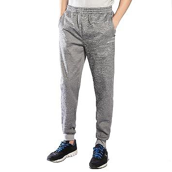 Ogeenier Hombre Fleece Deportivos Pantalones de Jogging con ...