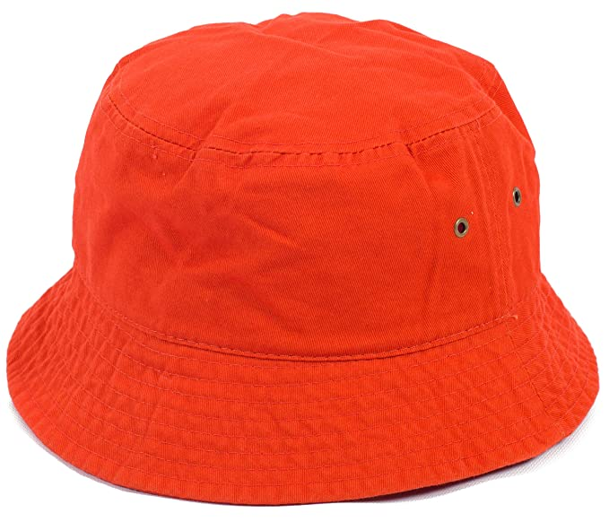 dc3316c91f1 DRY77 Plain Solid Color Safari Sun Bucket Fishermen Fisherman Washed Cotton  Hat