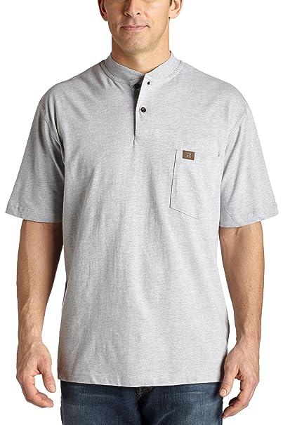 b98c0f598710 Wrangler RIGGS WORKWEAR Men's Short Sleeve Henley at Amazon Men's Clothing  store: Henley Shirts