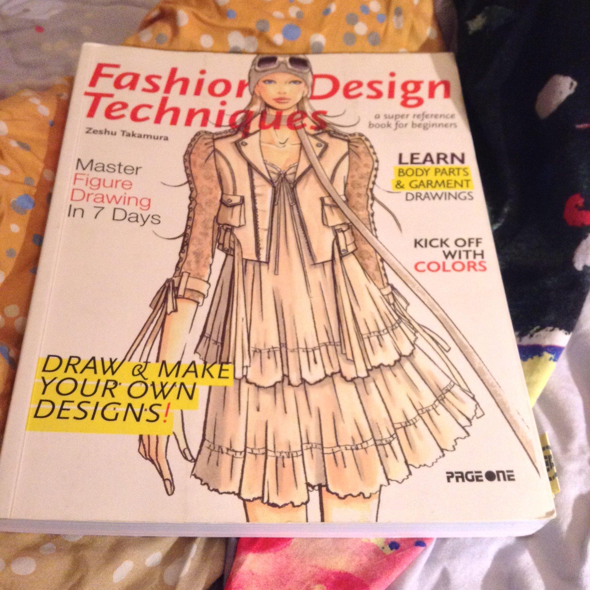 Fashion Design Technique A Super Reference Book For Beginners Amazon Co Uk Books