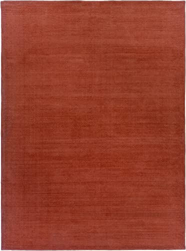 Surya Mystique M-332 Transitional Hand Loomed 100 Wool Paprika 9' x 13' Area Rug