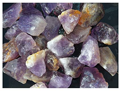 Fundamental Rockhound Products: 1 lb Rough Bolivian Amethyst Bulk Rock for  Tumbling Metaphysical Gemstones Healing Crystals Wholesale Lot from Bolivia