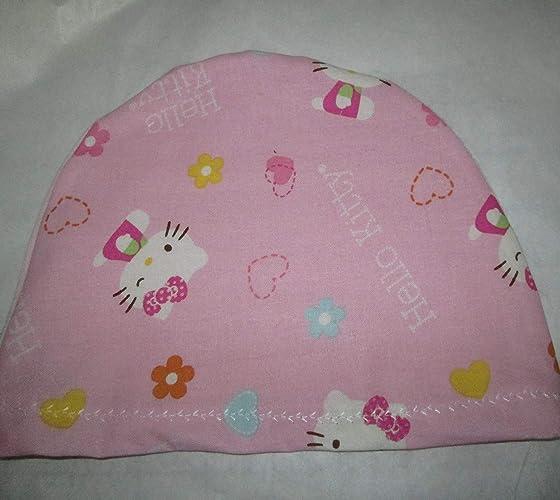 78fd25dbe Amazon.com: Children's Kids Hello Kitty Lightweight Chemo Hat ...