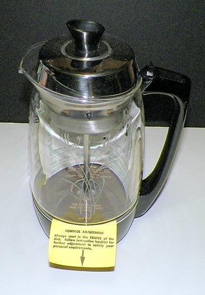 Amazon Vintage Proctor Silex Electric Glass Percolator