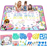Water Drawing Mat- Kids Painting Writing Doodle Board Toy - Color Doodle Drawing Mat Bring Magic Pens Educational Toys…