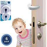 TODDLINO Finger Pinch Guard 6Pack - Premium Quality Durable Baby Proofing Door Stopper Prevents Slamming Doors Locking Toddlers Out - Eco Friendly Soft EVA Foam Child Safety Protector