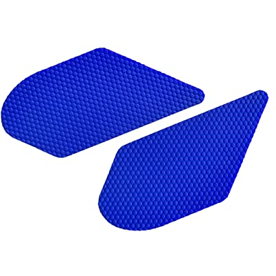 NEX Performance Motorcycle Tank Traction Pad Protector, Universal, Blue: Automotive