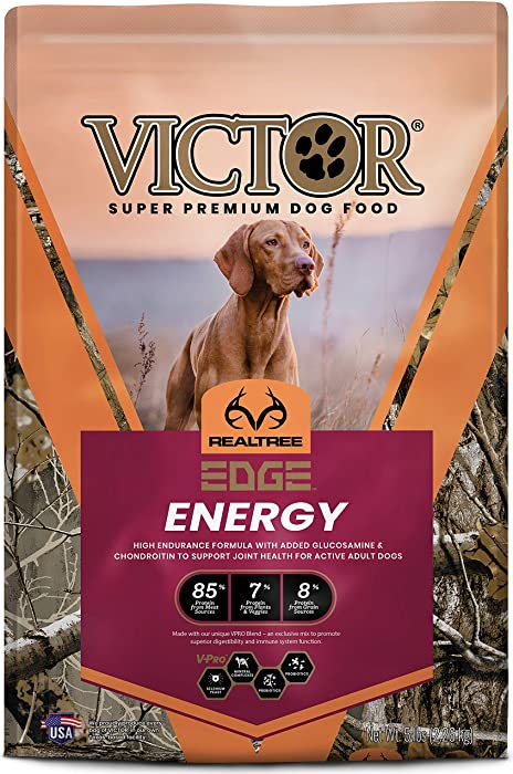 Victor Super Premium Pet Food Realtree Edge Energy, Dry Dog Food, Camo, 5-lb Bag