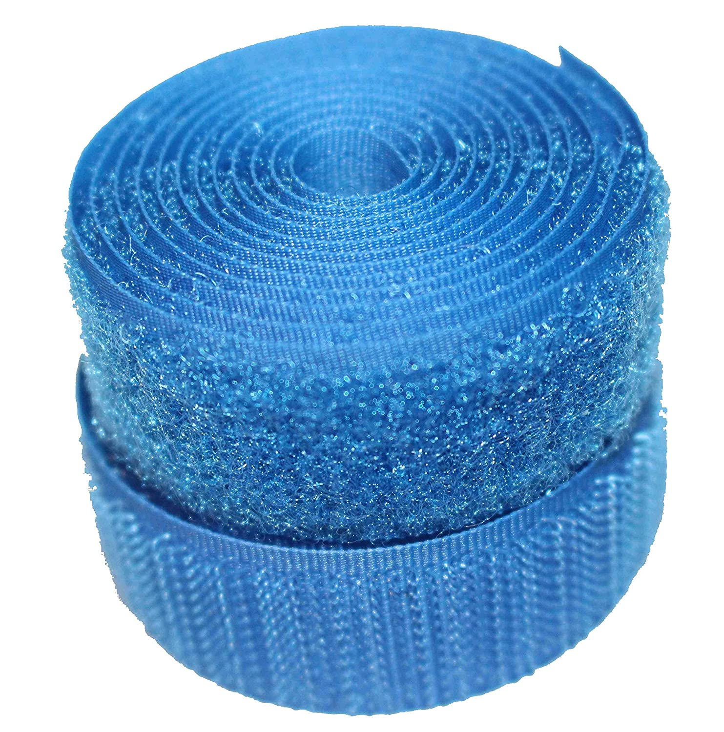 Royal Blue 20mm Sew-on Hook & Loop tape Alfatex® Brand supplied by the Velcro Companies - various lengths (25m) Alfatex® Brand supplied by the Velcro Companies