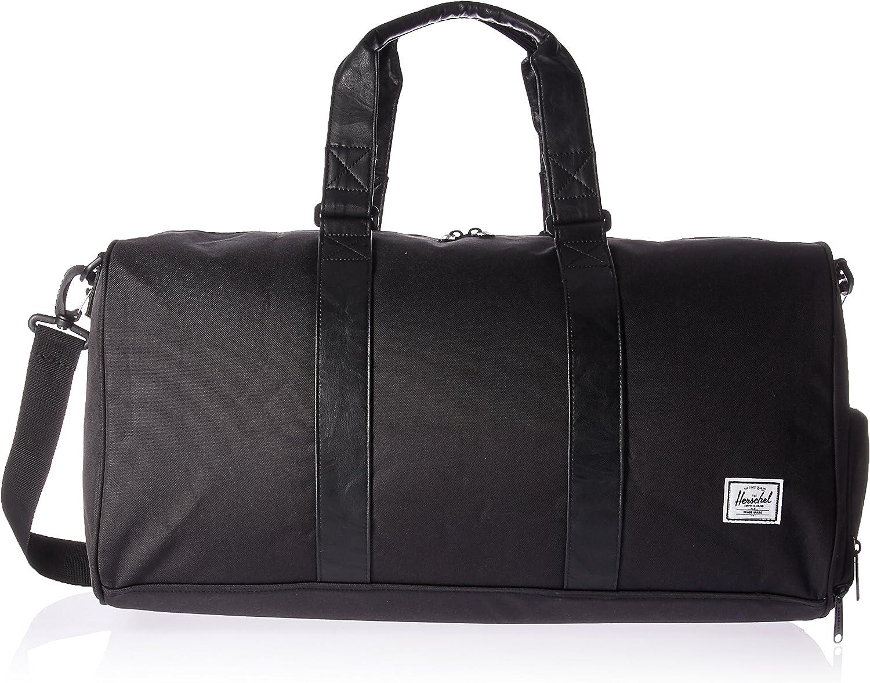 Amazon.com | Herschel Novel Duffel Bag, Black/Black, Mid-Volume 33.0L | Travel Duffels