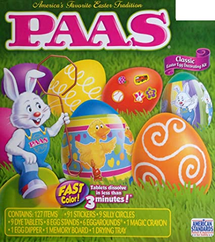 Buy Paas Classic Easter Egg Decorating Kit Online at Low Prices in