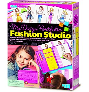 Melissa Doug 14312 Fashion Design Activity Kit Toy Amazoncouk