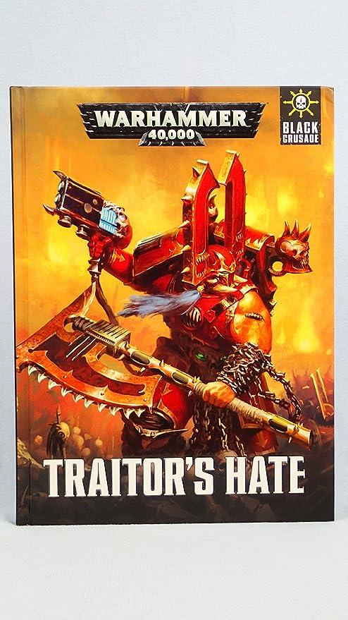 Warhammer 40,000 40K Black Crusade Traitors Hate: Amazon.es: Juguetes y juegos