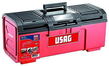 """USAG U06410006 - Caja de herramientas de 24"""" (vacía)"""