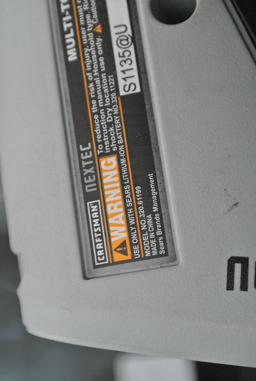 Craftsman 9-17438 Nextec 12-volt Multi-Tool Bare Tool Only Model ...