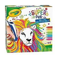 CRAYOLA Super Pen per Sciogliere i Pastelli a Cera e Creare Disegni in Rilievo, 25-0384