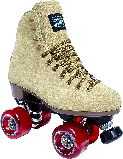 Amazon Com Sure Grip Tan Boardwalk Skates 9 Sports Outdoors