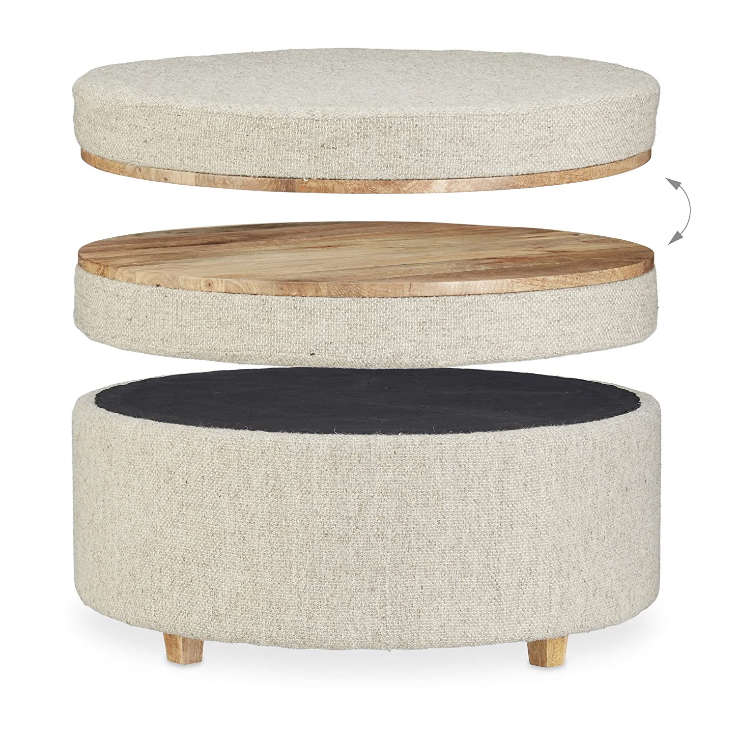 Fabulous Native Home Stool Table Combination Footstool Ottoman And Ncnpc Chair Design For Home Ncnpcorg
