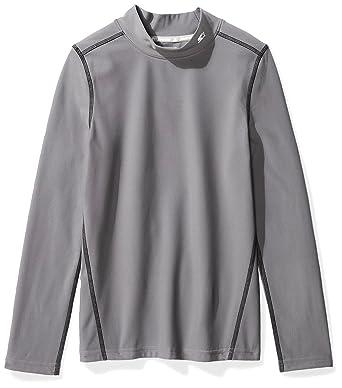 c0203680ff119 Starter Boys  Long Sleeve Mock Neck Athletic Light-Compression T-Shirt