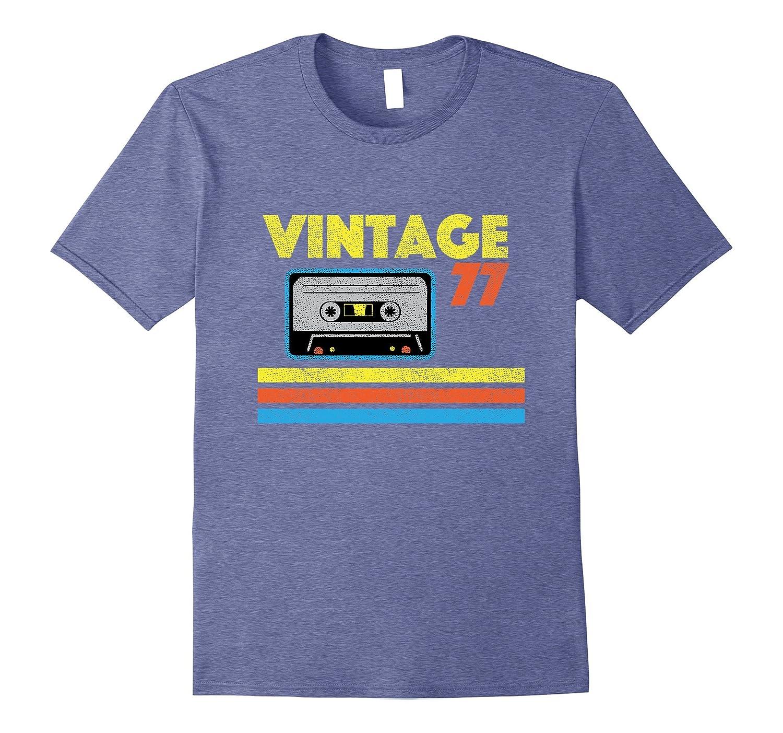 Vintage 77 Birthday T-shirt-PL