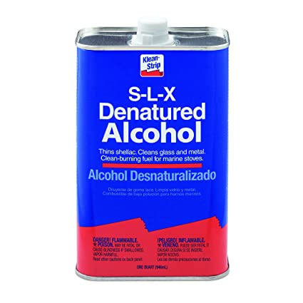 Klean-Strip QSL26 Denatured Alcohol, 1-Quart