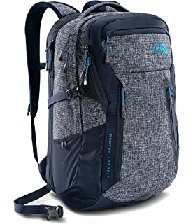 The North Face Router Transit Mens Laptop Backpack Urban Navy Heather Blue