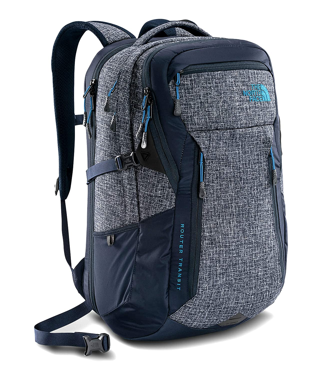 new arrive outlet on sale available The North Face Router Transit Men's Laptop Backpack Urban Navy Heather Blue