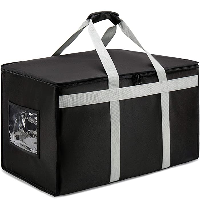DERABY Insulated Food Delivery Bag Carrier XXXL 23