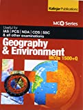Geography And Environment MCQs 1500+Q: Useful For IAS / PCS / NDA / CDS / SSC & All Other Examinations