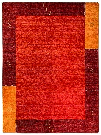 Morgenland Gabbeh Teppich Modern Tella 400 X 80 Cm Laufer Rot Orange