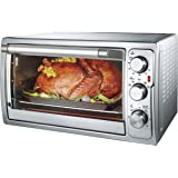 AMERICAN MICRONIC 28 L 230V AC, 1500W Stainless Steel Oven Toaster Griller with Variable Temperature Control - AMI-OTG-28LDx