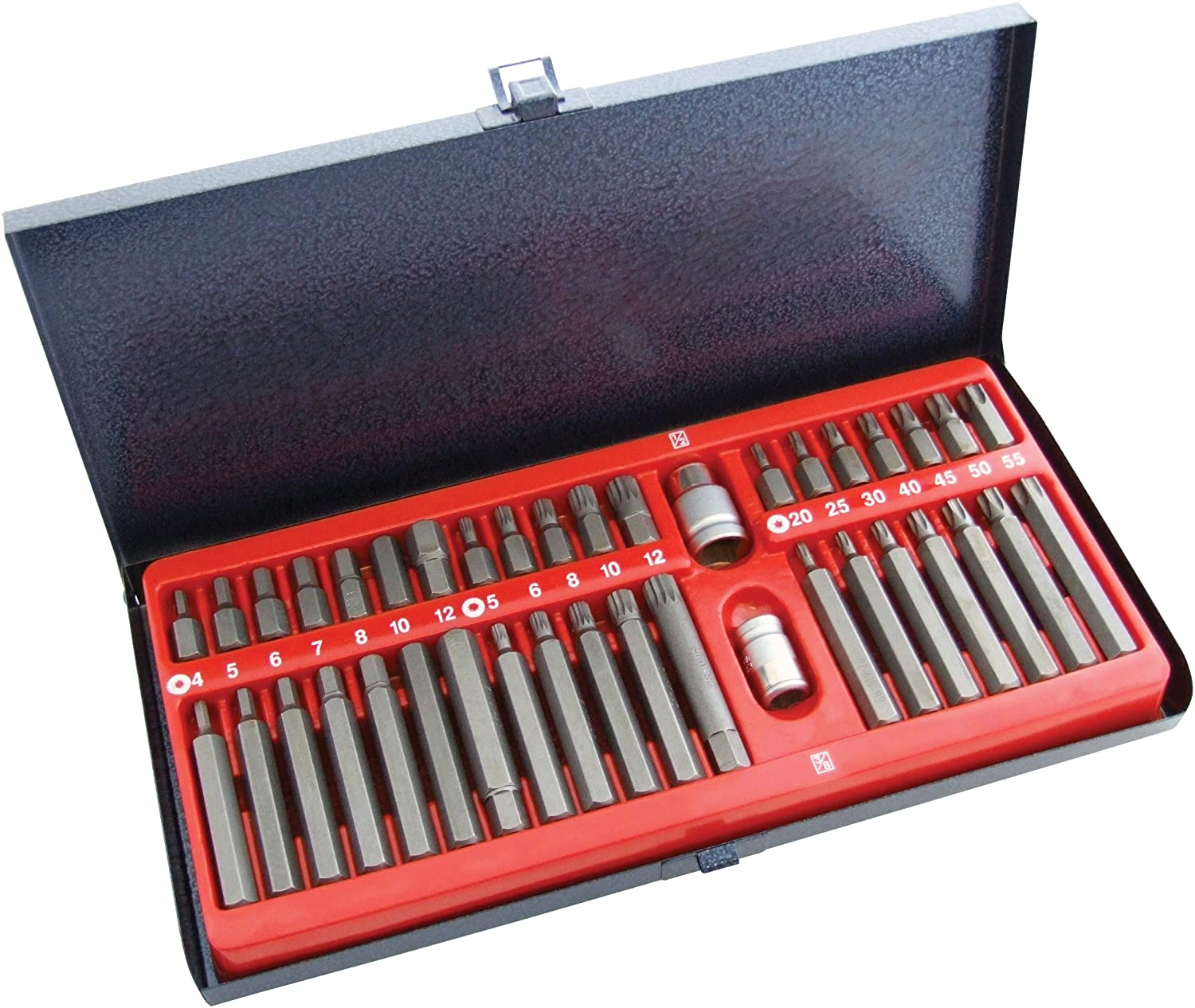 Amtech I8320 Power Bit Set in Metal Tin, 40-Piece AM-I8320