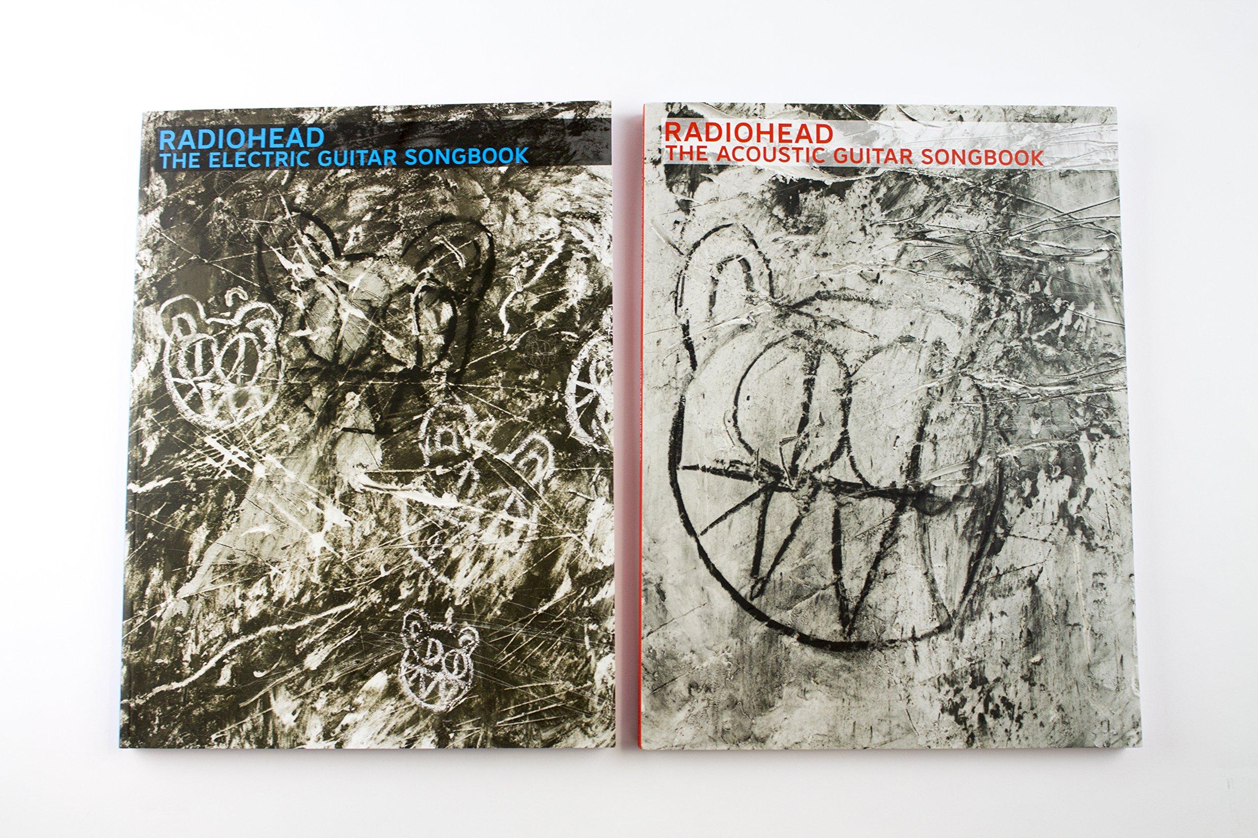Radiohead The Acoustic Guitar Songbook Amazoncouk Radiohead Books
