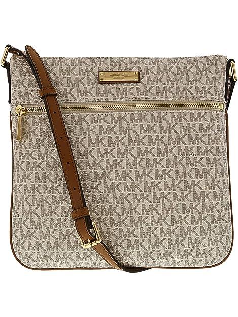 966ecc3b4c97 MICHAEL Michael Kors Signature Bedford Flat Small Crossbody: Michael Kors:  Amazon.ca: Shoes & Handbags