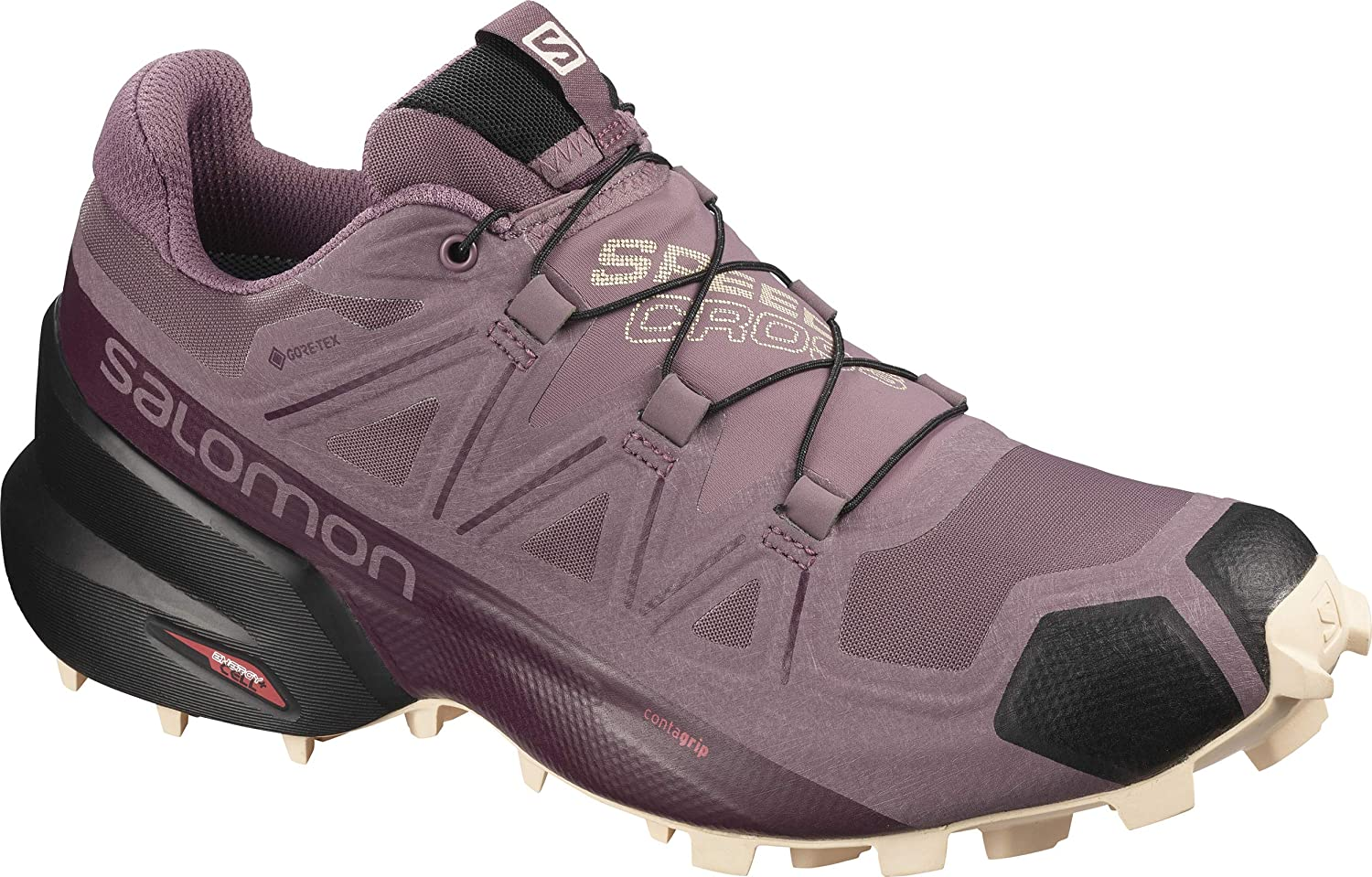 Amazon.com | Salomon Men's Speedcross 5 GTX W Trail Running ...