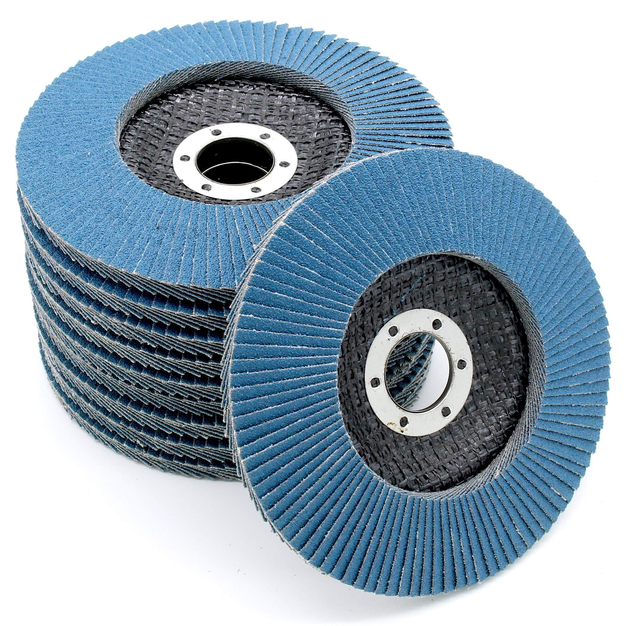 FD-Workstuff Lot de 25 disques abrasifs professionnels 10 trous /Ø 225 mm grain 40 pour ponceuse longue dur/ée