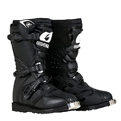 O'Neal - 0325-106 Boys New Logo Rider Boot (Black, Size 6): Automotive