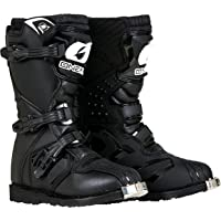 O'Neal Boys New Logo Rider Boot (Black, Size 5)