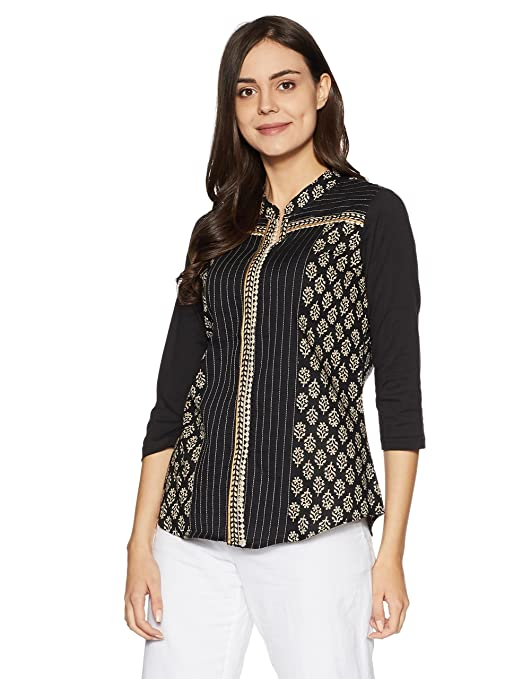 Rangriti Women's A-Line Kurta Women's Kurtas & Kurtis at amazon