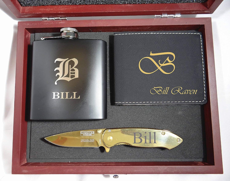 Amazon Com Groomsmen Gift Box Set Groomsman Gift Monogrammed