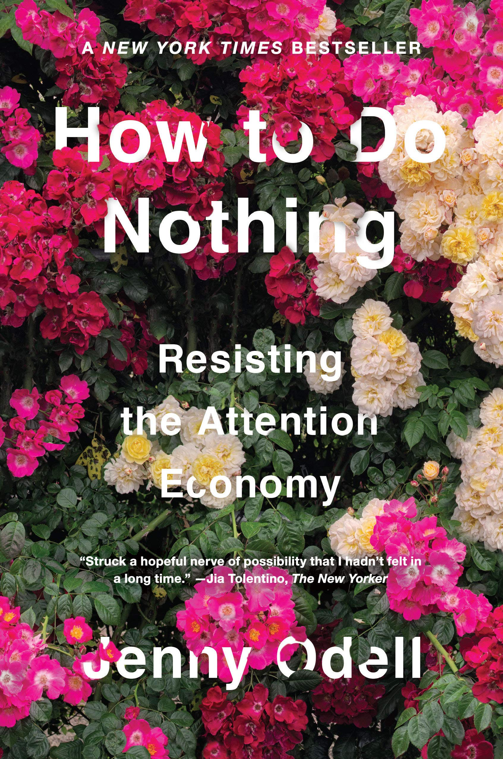 How to Do Nothing: Resisting the Attention Economy: Odell, Jenny:  9781612197494: Amazon.com: Books
